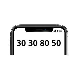 30 30 80 50 (Mobil)
